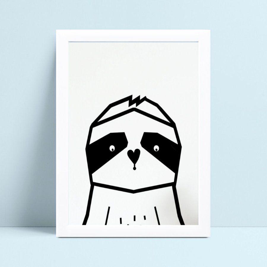 Quadros Quadros Decorativos Infantil panda geométrico