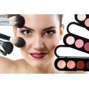 Curso de Maquiagem Profissional + Maquiagem artística + Automaquiagem