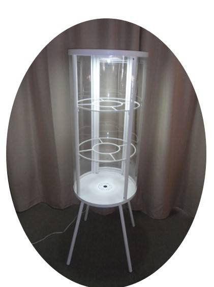 Armário Expositor Com Iluminação (Com Chave) - Ramsor
