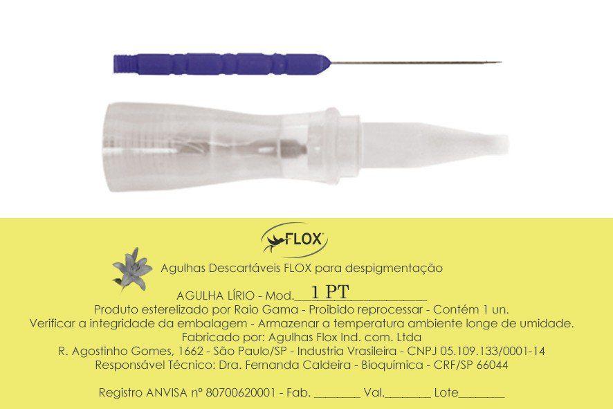 Agulha Lírio - Flox  Ind e Comércio