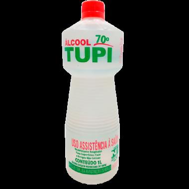 ÁLCOOL ETÍLICO 70% ANTISSÉPTICO TUPI 1L