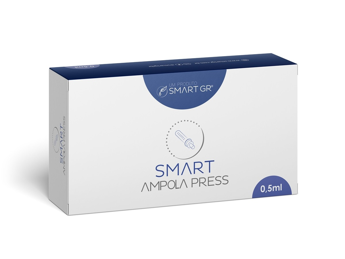 Ampola – Seringa Descartável Para Caneta Pressurizada Smart Press 0,5 mL – Smart GR