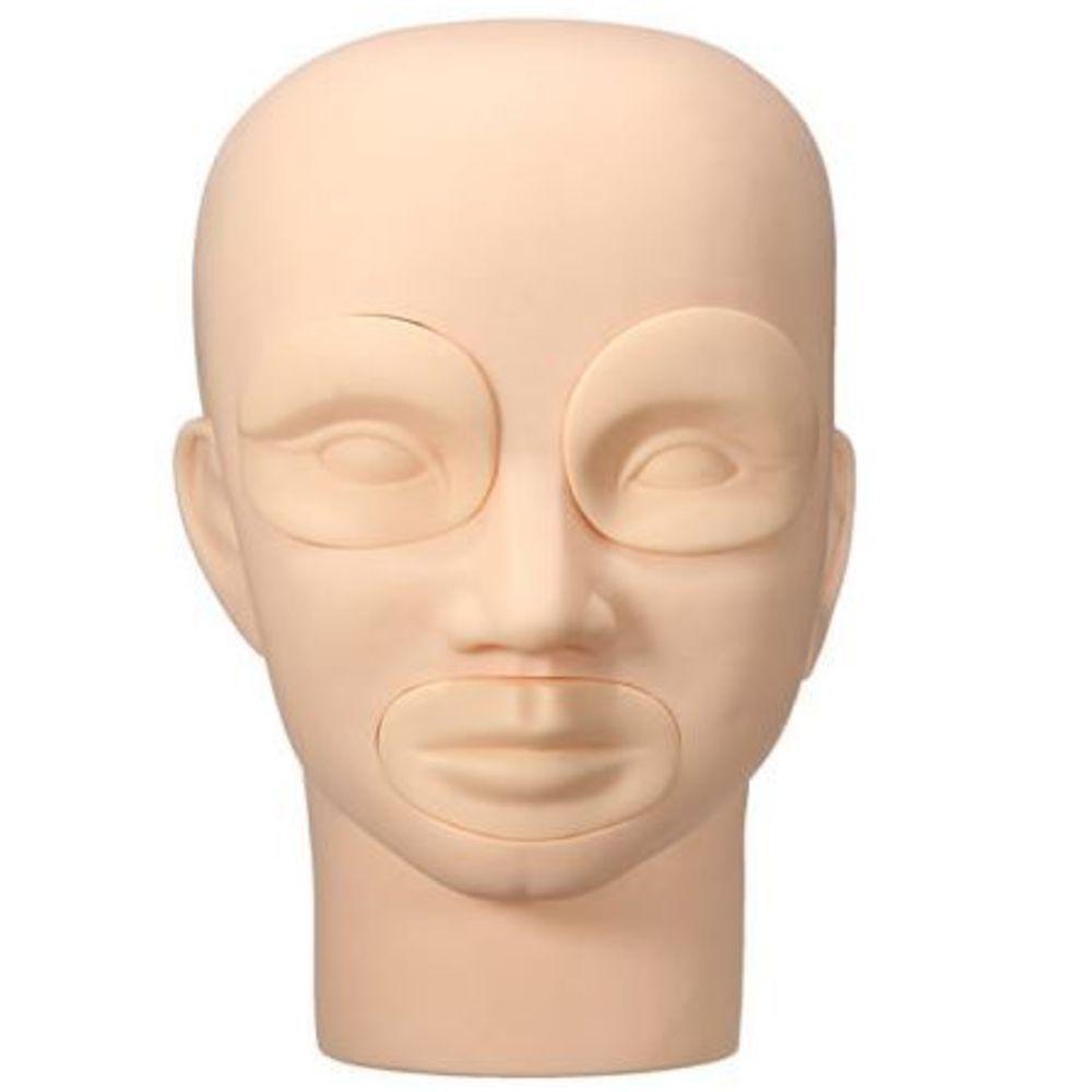 Cabeça para Treino 3D de Micropigmentação e Microblanding