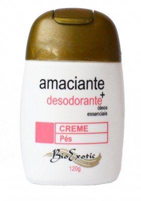 Creme Amaciante e Desodorante para os Pés - Bio Exotic