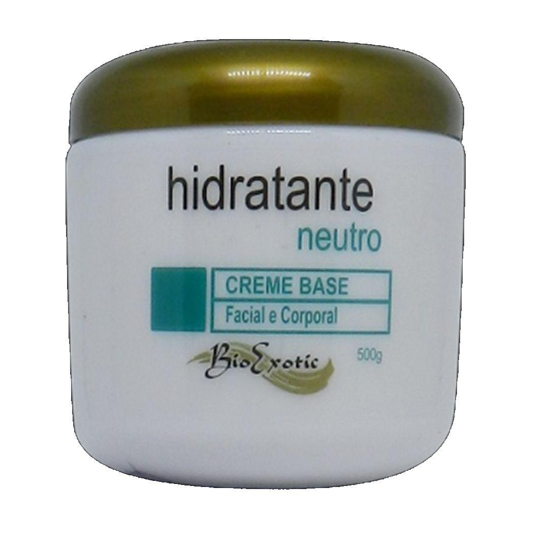 Creme Base Hidratante Neutro - Facial e Corporal - Bio Exotic