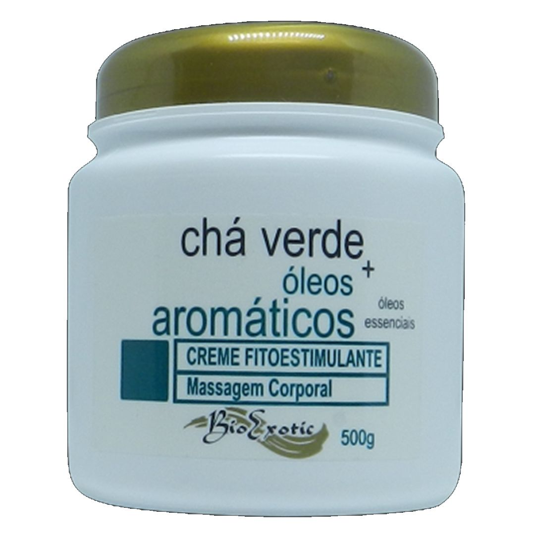 Creme Fitoestimulante com Chá Verde e Óleos Aromáticos-Bio Exotic