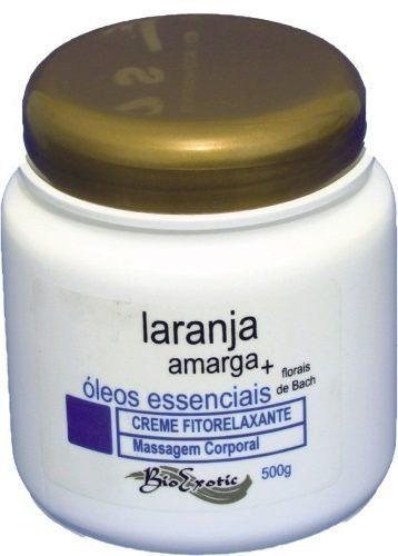 Creme Fitorelaxante com Laranja Amargas e Óleos Aromáticos - Bio Exotic
