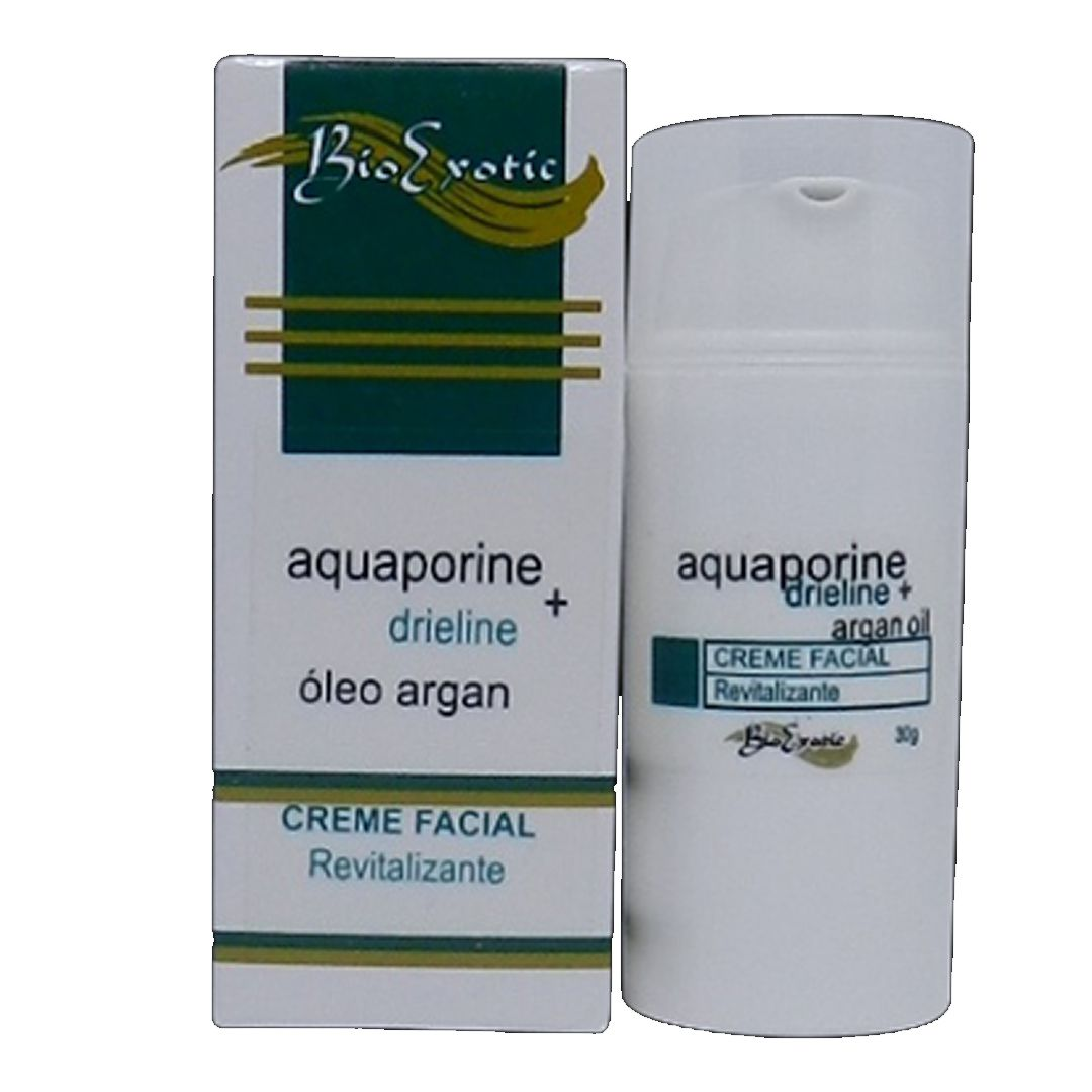 Creme revitalizante facial c/ óleo de argan-Bio exotic