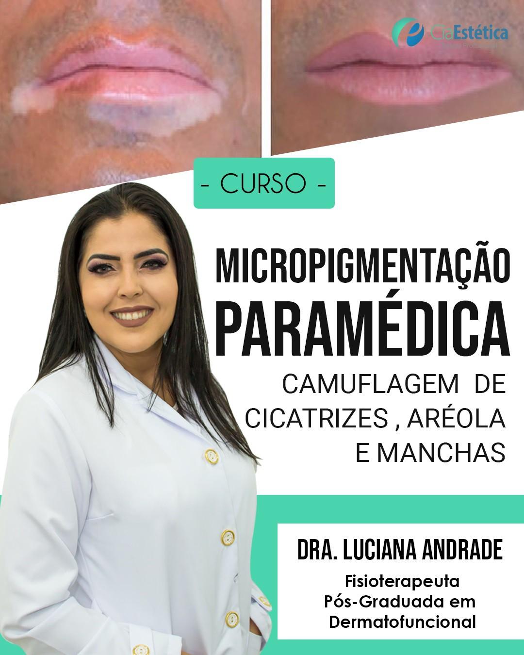 Curso de Micropigmentação Paramédica
