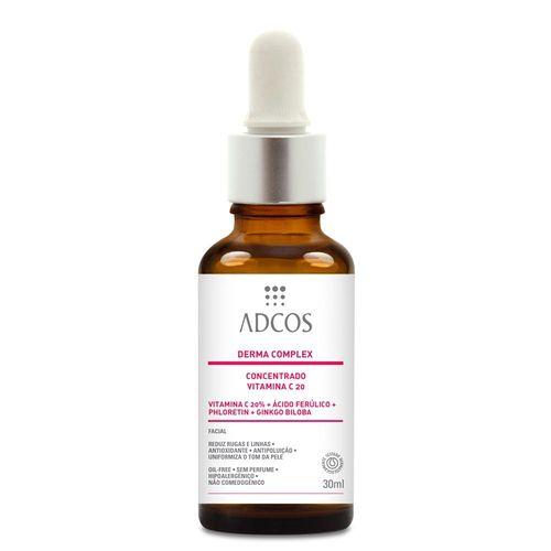 Derma Complex Concentrado Vitamina C 20%  30ml - Adcos
