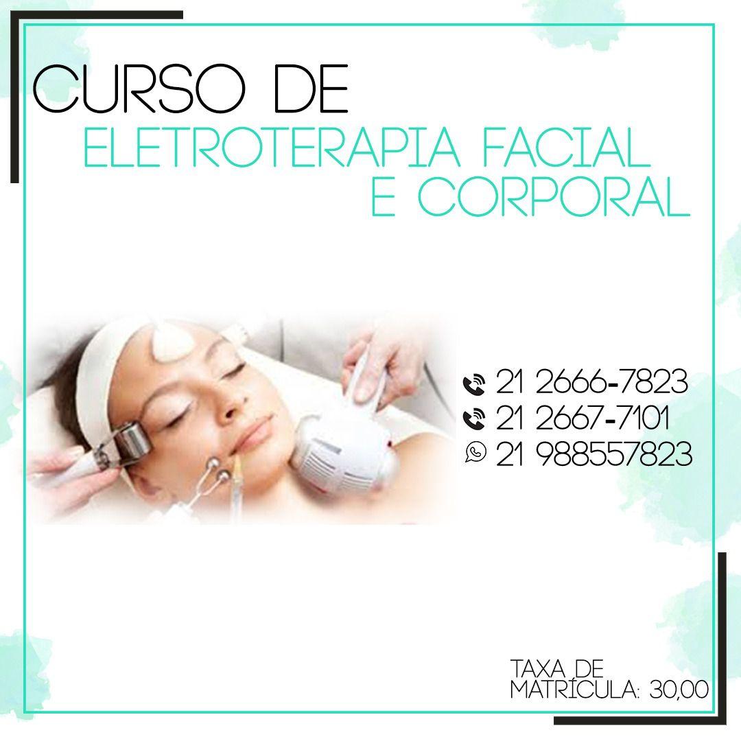 Curso de Eletroterapia Facial e Corporal