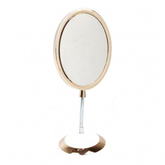 Espelho Clássico Dupla Face Com Pedestal