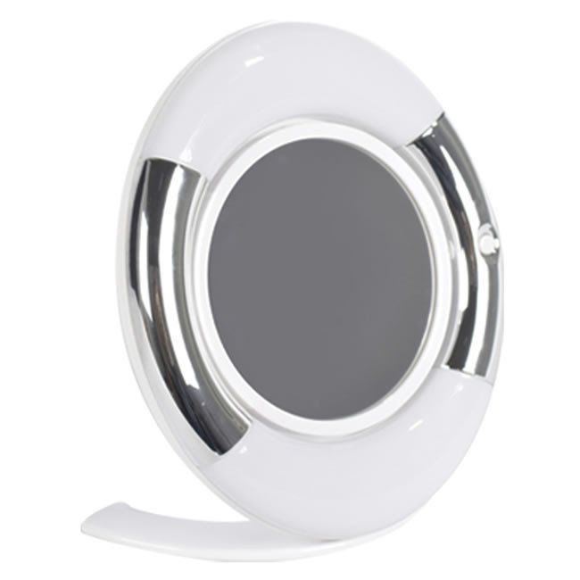 Espelho Dupla Face Oval c/ Luz de LED - Estek