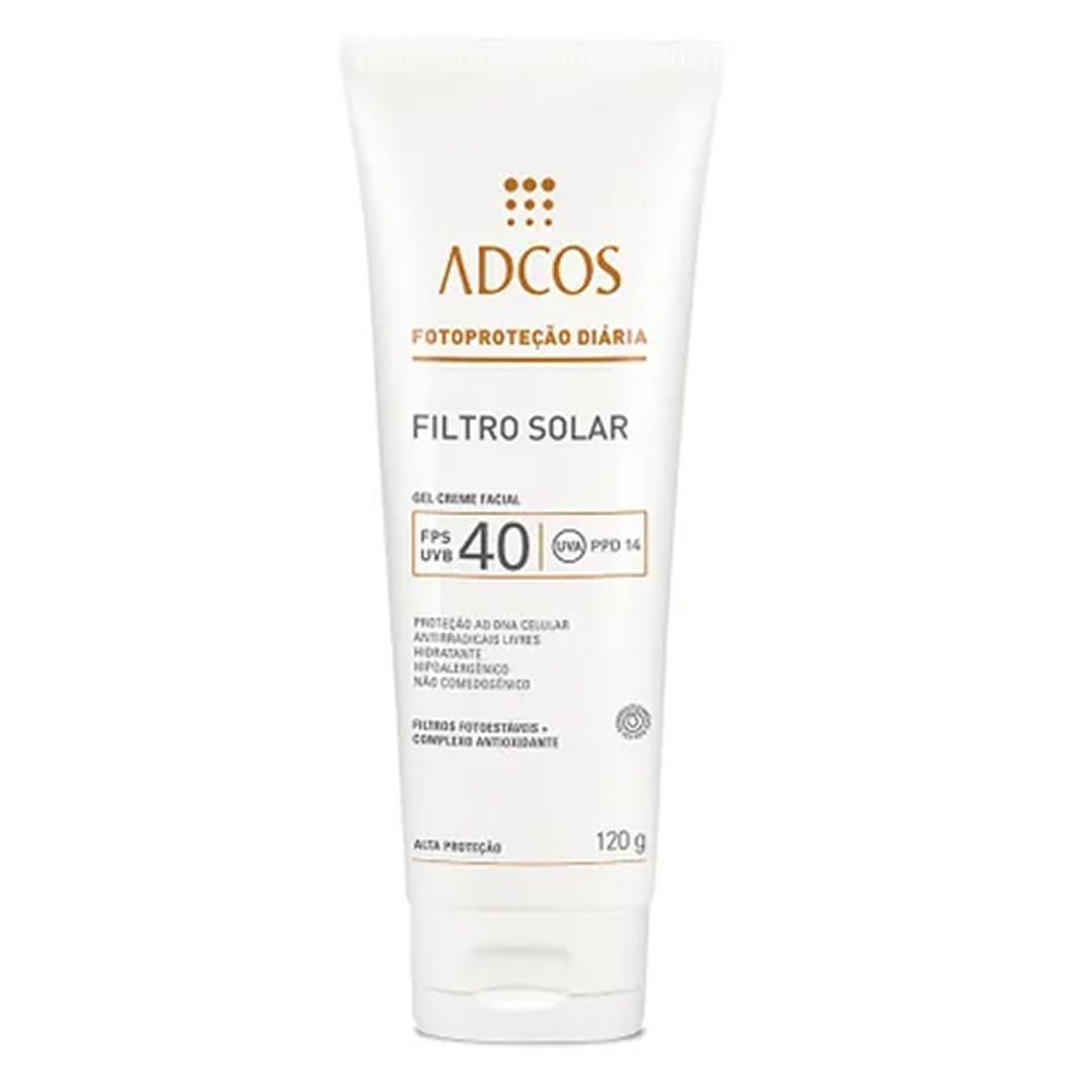 Filtro Solar FPS 40 Gel Creme - Adcos