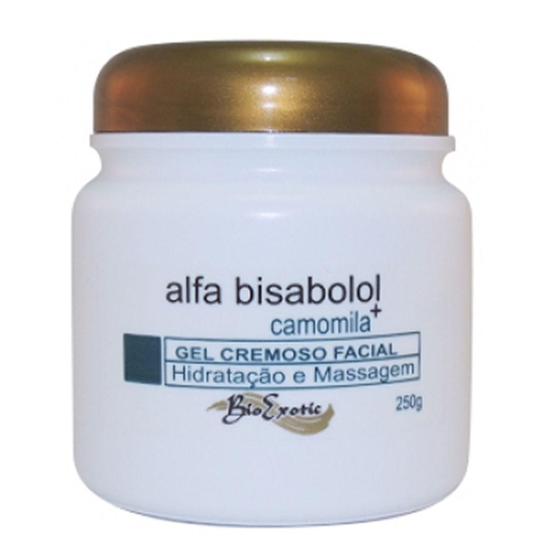 Gel Cremoso para Massagem Facial com Alfa Bisabolol- Bio exotic
