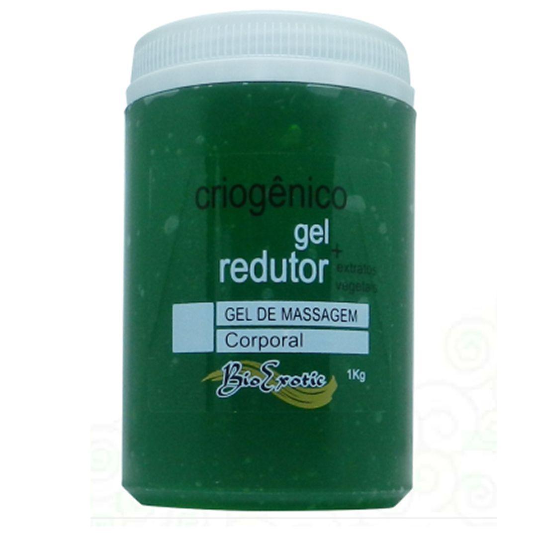 Gel Criogênico vegetal redutor 1kg -Bio Exotic