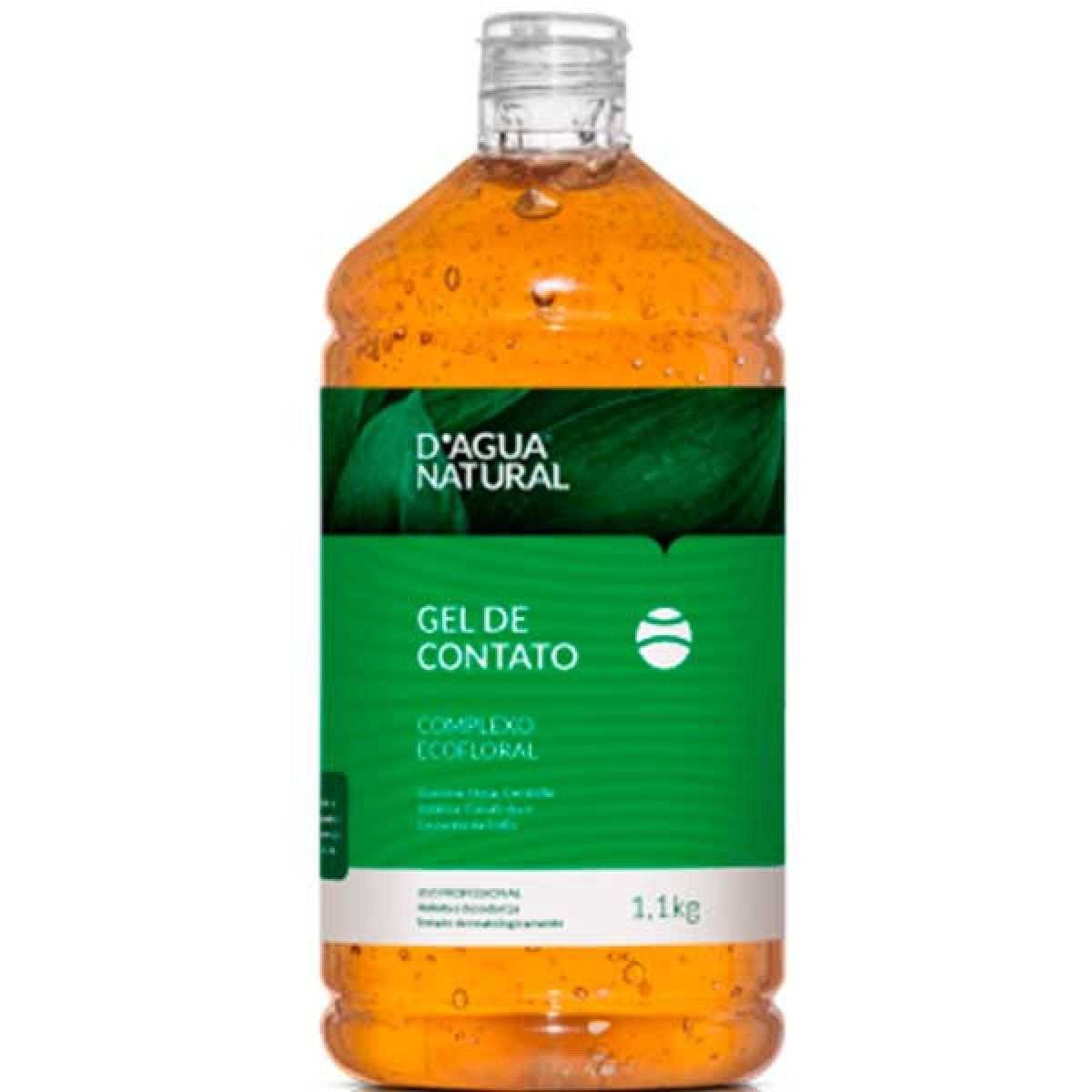 Gel de Contato Ecofloral-D'Agua natural