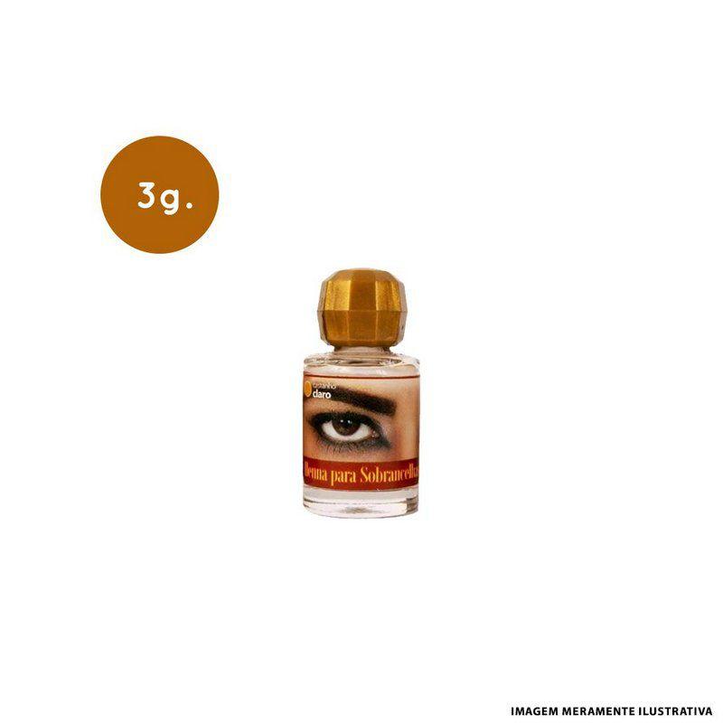 Henna Castanho Escuro 3G- Henna DElla e Delle