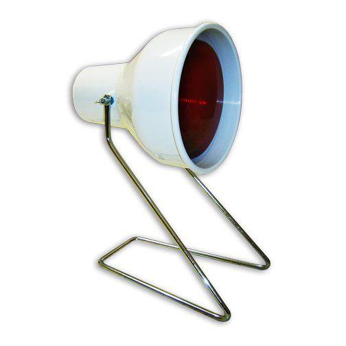 Suporte para Lâmpada Infravermelha de Mesa