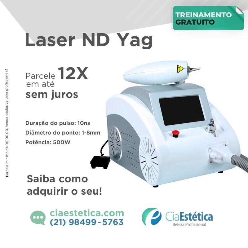Laser ND YAG Q-Switched Importação