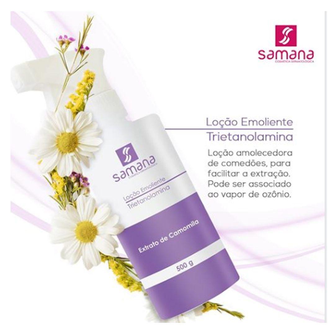 Loção Emoliente Trietanolamina - 500ml/ Samana