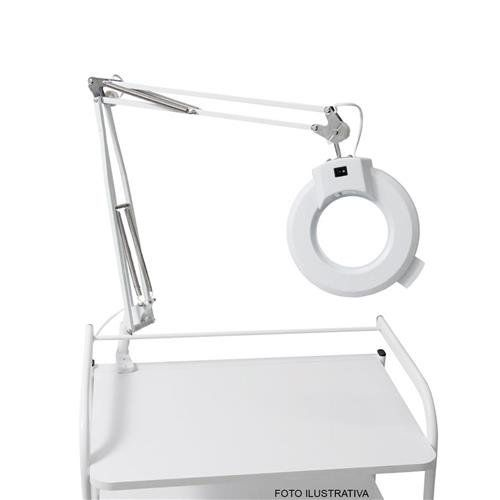 Lupa de Mesa com Iluminação Led Standard - Estek