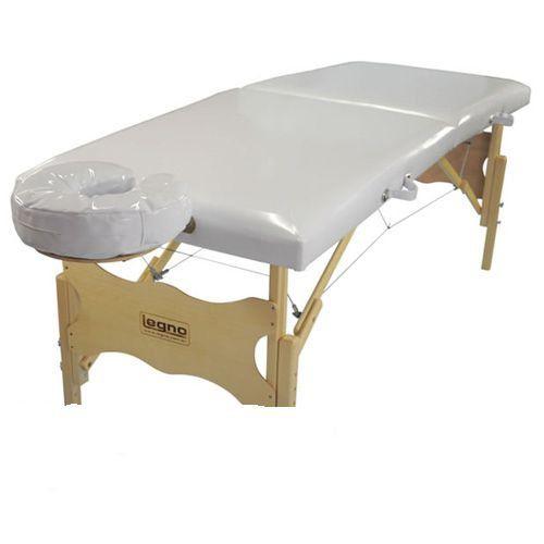 Maca De Massagem Portátil Com Altura Fixa Vegga Branco Brilhante - Legno