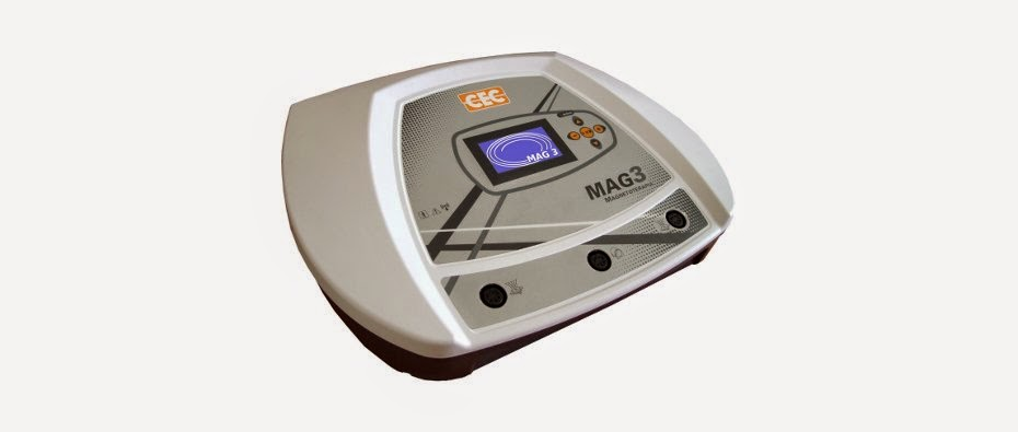 Mag 3 Cecbra - Aparelho De Magnetoterapia Com 03 Canais