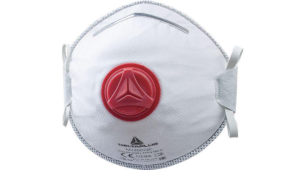 Máscara Delta Plus N95 Pff3 Concha Proteção Respiratória