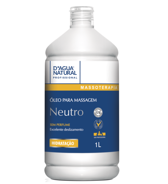 Óleo de Massagem Neutro - D'Agua natural