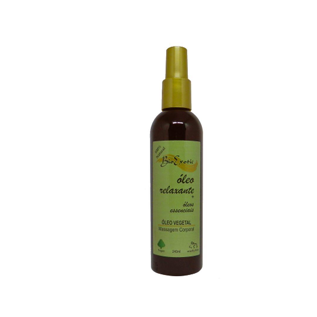 Óleo para banho e massagem relaxante 240 ml-Bio exotic