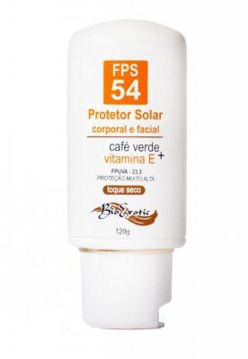 Protetor Solar Corporal e Facial FPS 54 - Toque Seco - Bio Exotic
