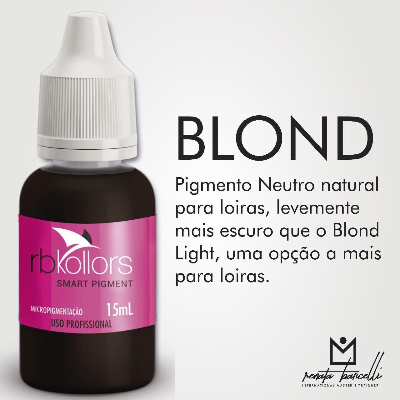 Pigmento Rb Kollors  Blond -15ml