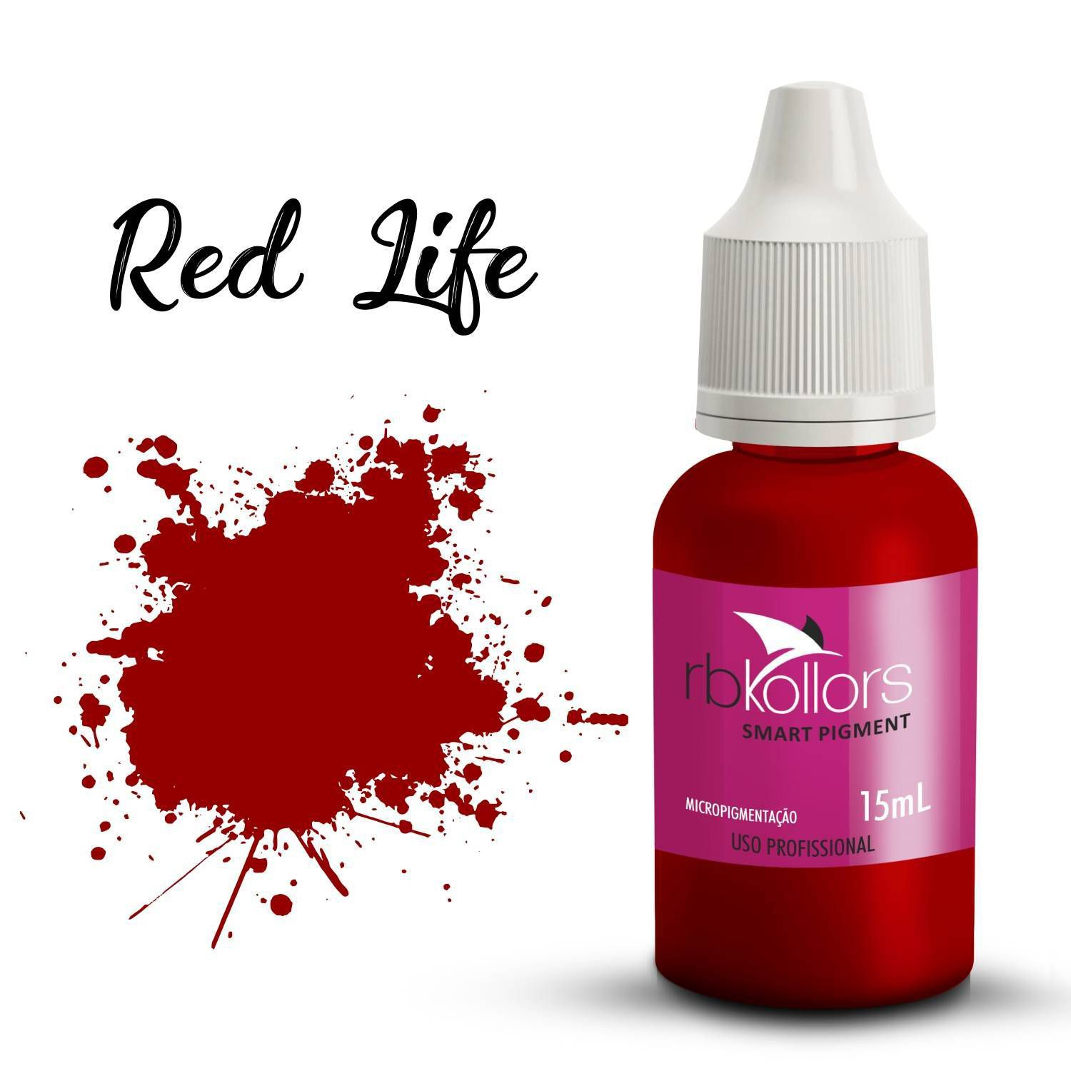 Pigmento Rb Kollors  Red Life -15ml
