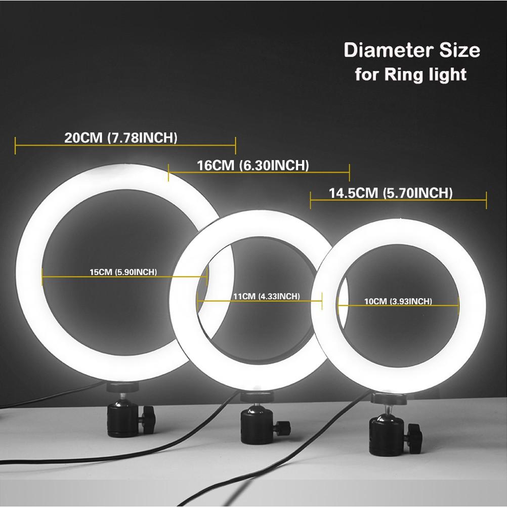 Ring Light Led 33cm C/ Tripé Profissional
