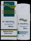 Serum Facial com Ácido Hialurônico, Liftiline, Pentaglycan- Bio Exotic