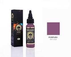 Tinta Iron Works para Tatuagem - Púrpura