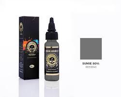 Tinta Iron Works para Tatuagem -Sumie 80%