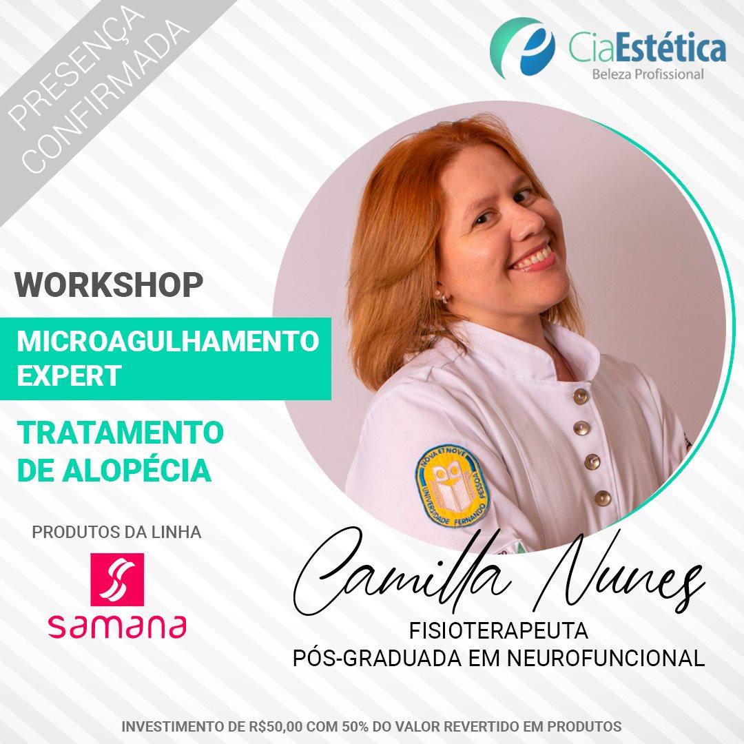 Workshop Microagulhamento - Tratamento de Alopécia