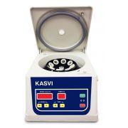 CENTRIFUGA KASVI DIGITAL 8X15 ML ROTOR DE ANGULO FIXO 4000 RPM BIVOLT K14-0815C