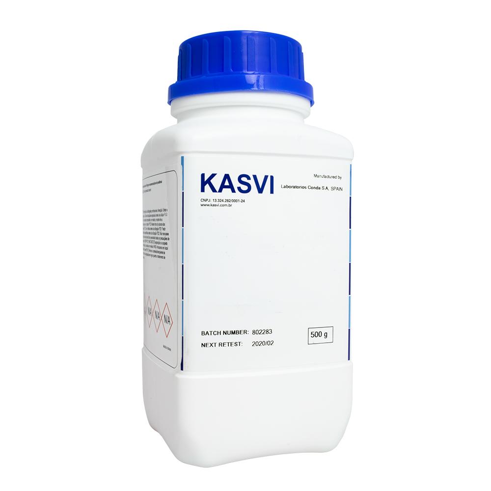 AGAR BACTERIOLÓGICO FRASCO 500G REF K25-1800 KASVI
