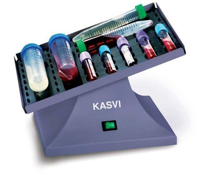 AGITADOR (HOMOGENEIZADOR) PARA TUBOS MODELO BASIC 3D VELOCIDADE 20 RPM KASVI