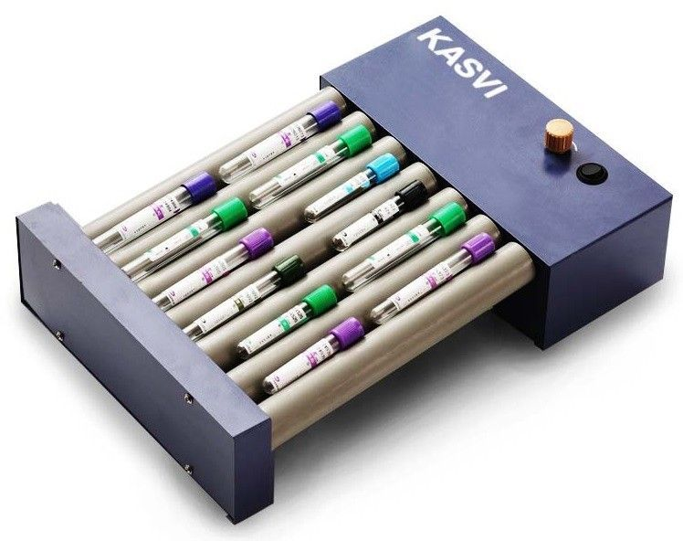 AGITADOR (HOMOGENEIZADOR) BASIC ROLLER VELOCIDADE 0-80 RPM REF K45-8010 KASVI