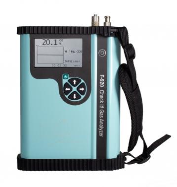 ANALISADOR DE GASES O2/CO2 PARA EMBALAGENS E ATMOSFERAS MODIFICADA F920