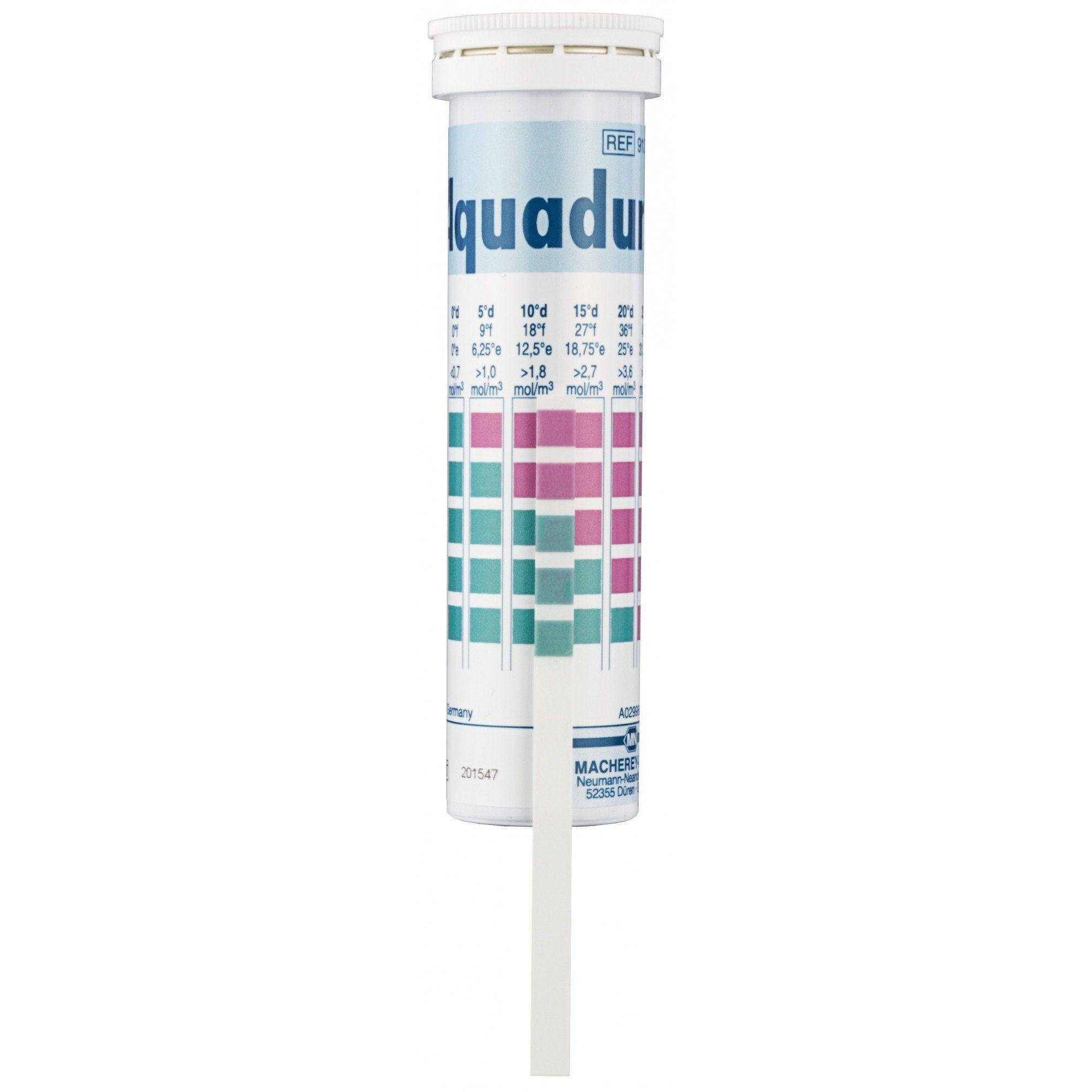 AQUADUR - DUREZA DE AGUA 0-1,1 D EM TIRAS