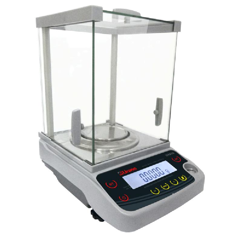 BALANÇA ANALÍTICA 0,0001G (0,1MG) CAPACIDADE 220G - APROVADA PELO INMETRO
