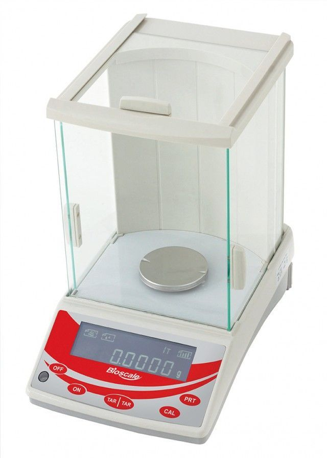BALANÇA ANALITICA RESOLUÇÃO 0,0001G CAPACIDADE 220G REF FA-2204-BI BIOSCALE