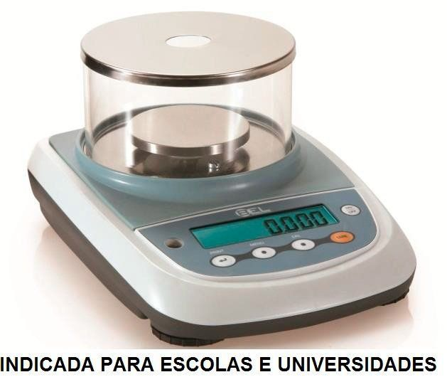 BALANÇA DIGITAL MILESIMAL SEMI ANALÍTICA 0,001G 420G - NÃO HOMOLOGADA PELO INMETRO