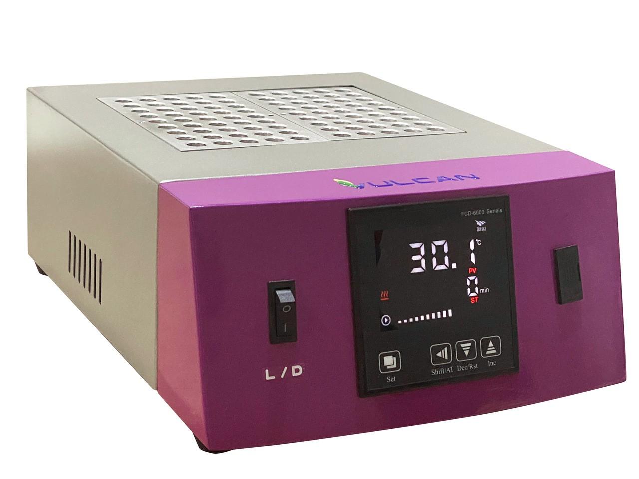 BANHO SECO DIGITAL (TERMO BLOCO) COM AQUECIMENTO ATÉ +150°C BIVOLT - VULCAN