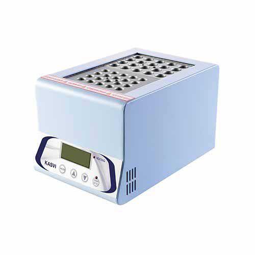 BANHO SECO DIGITAL (TERMO BLOCO) PARA 2 BLOCOS COM AQUECIMENTO ATÉ 150°C K80-D0102 KASVI